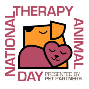 National Therapy Animal Day Logo