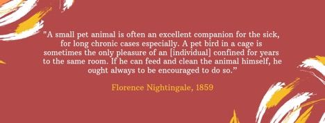 Florence Nightingale quote | Pet Partners