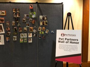 Wall of Honor sign and photos at 2019 Conference