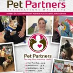 The cover of an issue of Pet Partners Interactions