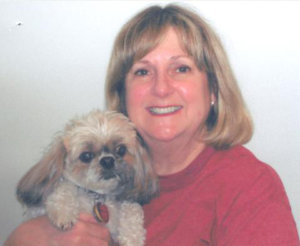 Mary Pecoul and her shih tzu Dixie