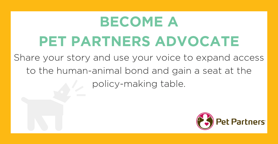 Become a Pet Partners Advocate