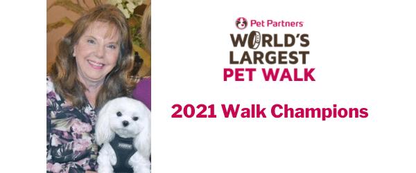World's Largest Pet Walk 2021 Walk Champions